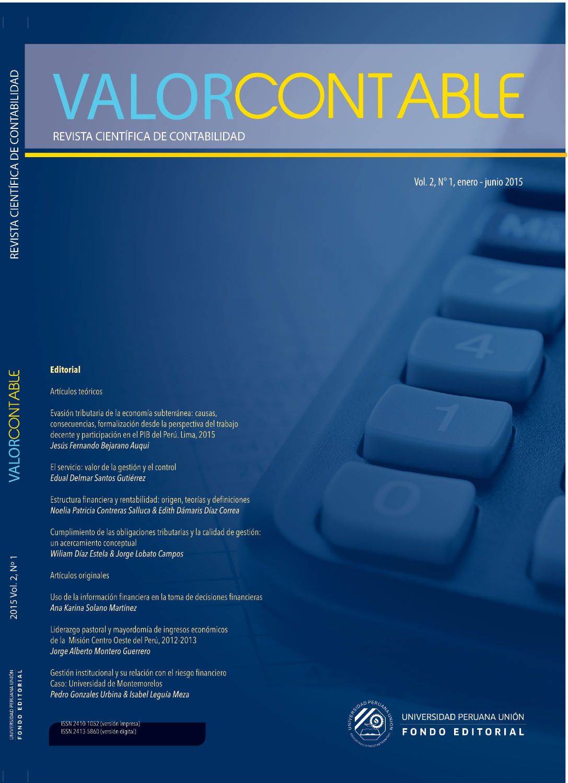 Portal De Revistas De La Universidad Peruana Union